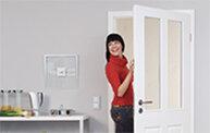 Türen | Zargen weiß (Lack, Dekor, CPL)