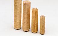 Holz-Riffeldübel