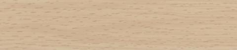 ABS 125 DEKOR 075V Buche - ABS 125 RAUKANTEX Dekor 0,8 mm Ausführung pure DEKOR 075V Buche Prägung OHNE/LPE05 Lack Mattlack, GG8
