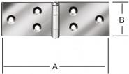 Vormann Scharniere-Tischbänder