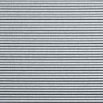Homapal 444/920 Alu Gebürstet Riffel Horizontal