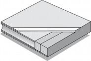 ASTRA Schiebetür Dekor Buche C 02
