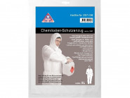 Chemikalien-Schutz Overall weiß