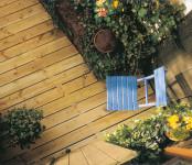 Terrassendielen Kiefer