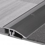 Anpassungsprofil Typ 386 L/P, Aluminium elox., silber