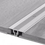 Übergangsprofil Typ 378 Vinyl, Aluminium elox., Edelstahl