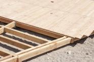 Terrassenholz Unterkonstruktion