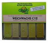 Cleho Weichwachs C12 S1, 5St, Ahorn/Fichte/Tanne/Kiefer 1225