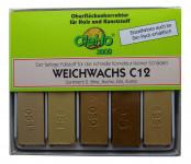 Cleho Weichwachs C12 S2, 5St. Birke/Buche/Erle/Rüst. 1225502