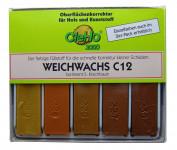 Cleho Weichwachs C12 S5 5er Serie Kirschbaum 1225505