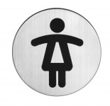 GenoTop Symbol Damen Edelstahl