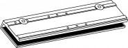 GEZE Glasklemmschuh für TS4000+TS5000