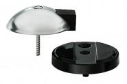 FSB Unterlagplatten 38 3884 0010 Höhe 10 mm PVC schwarz