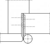 Simonswerk Aufschraubband H 120mm verzinkt