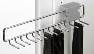 Ausziehbarer Krawattenhalter|Gürtellhalter