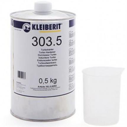 Kleiberit Turbohärter 303.5 500 g Flasche 303.5.8202 - Kleiberit Turbohärter 303.5  zweite Komponente für Kleiberit 303 zur Verleimung in D4-Qualität 500 g Flasch 303.5.8202