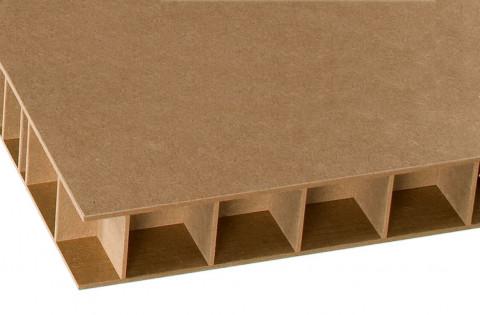 Greenpanel roh - Green Panel MDF Stegplatte Roh 3 mm MDF-Deck Exterior EZ ( TD NAF ) Carb 2