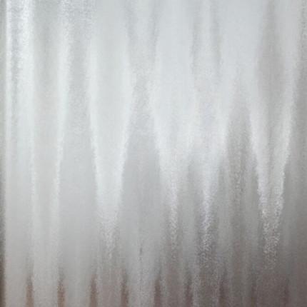 ESG-Türverglasung Chinchilla weiss für Türblatt 1985/735 mm - Türverglasung Chinchilla weiss 4 mm ESG Folienverpackt