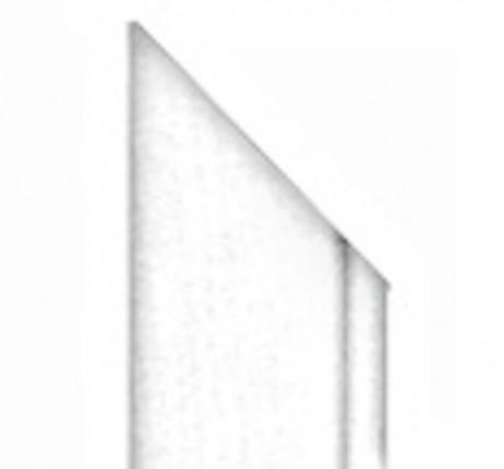 Garant Zierbekleidung Längsteil - Garant Zierbekleidung Längsteil Weißlack spezial DIN Links