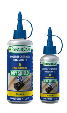 Repair Care DryShield SK Hirnholzversiegelung - Repair Care DryShield SK Hirnholzversiegelung, Doppelkartusche 280 ml (200 ml Komp. A & 80 ml Komp. B),  violett, VPE: 10 Stück