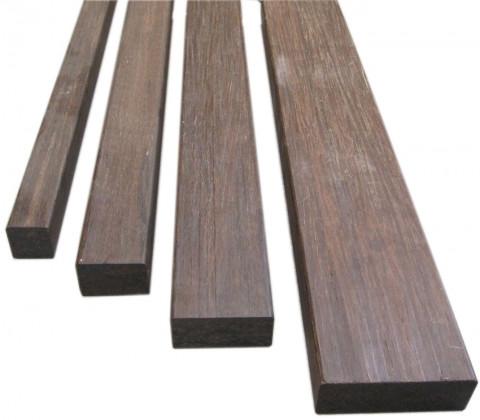 Bamboo X-Treme Banklatte - Bamboo X-Treme Banklatte, 4-seitig glatt,  2000 x 115 x 40 mm  Density-Thermo/ Dünnschichtlasur vorbehandelt