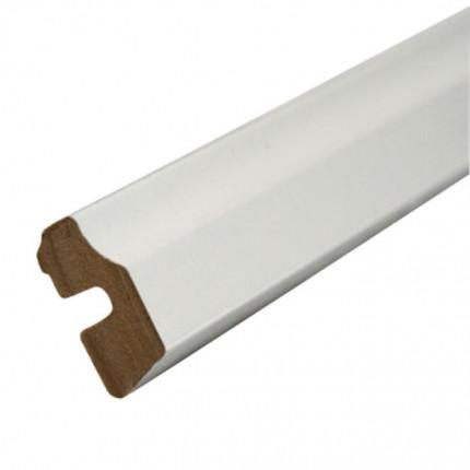 Dekor-Deckenabschlußleiste 1 - Dekor-Deckenabschlußleiste 1  HA139 Ahorn cremeweiß (weiß)