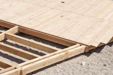 Terrassenholz Unterkonstruktion - Terrassenholz Konstruktionsholz  Bangkirai (Yellow Balau) SHBL  select & better, KD 20% +/- 2%,  A-Grade, 2-seitig geriffelt