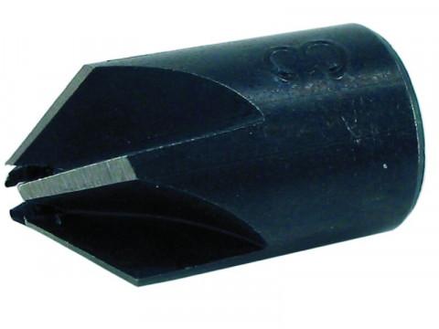 Aufsteckversenker für Spiralbohrer - Aufsteckversenker für 4 mm Bohrer, Außen Ø 16 mm 412.04