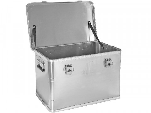 Aluminium-Box Premium - <p>mit Stapelecken</p>