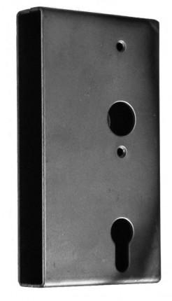 Schlosskasten 40mm 60/72/8 PZW - Schlosskasten 40mm 60/72/8 PZW Stulp 33x166mm verz.Schloss 460461P