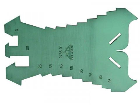 Anreißschablone - Anreißschablone  140X100X1,3 786.01