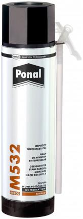 Henkel Ponal 532 2K-Schaum 400 ml Dose PN542 - Henkel Ponal 532 2K-Schaum für Holz- und Stahlzargen  400 ml Dose PN542 UN 1950