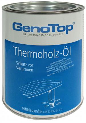 GenoTop Thermoholz-Terrassenöl - GenoTop Thermoholz-Terrassenöl  2,5 Ltr.