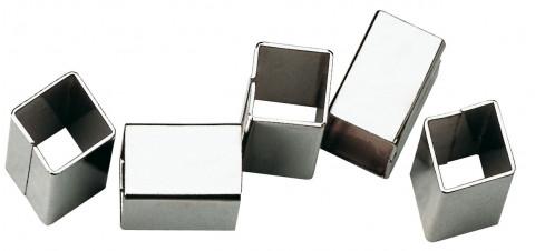 EDI Aufsteckhülse 08/10 mm - EDI Aufsteckhülse 08/10 mm Eisen blank     0554081000