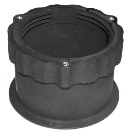 Adapter für Verstellfuß mittel u. groß - Adapter für Verstellfuß  mittel 65-155 mm und  groß 145-225 mm  Höhe 80 mm  6955