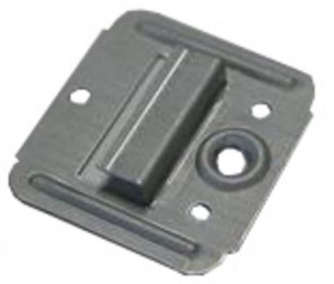 Profilholzkralle 3 mm Nutwange - Profilholzkralle 3 mm Nutwange  mit Schrauben  100 St  NR.613SKSB, 4122-02-1