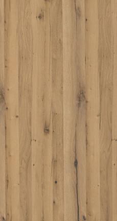 Furnierte Span Eiche Altholz Bettcharacter - Furnierte Spanplatte Eiche Altholz Brettcharakter  N /  Rückseite euro. Eiche Brettcharakter NB schwarze Verleimung, 0,9 mm Furnier 100% PEFC zertifiziert, BV/CdC/6009552