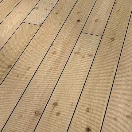 Terrassenholz Sib. Lärche - Terrassenholz Sib. Lärche  beidseitig fein geriffelt