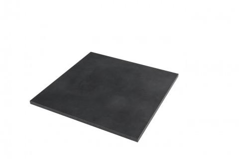 Tischplatten Midnight Stucco - Tischplatten Midnight Stucco Dekor  F257 M02  4-seitig 1mm ABS-Kante, dekorgleich, Folie und Einleger 70% PEFC zertifiziert, BV/CdC/6009552