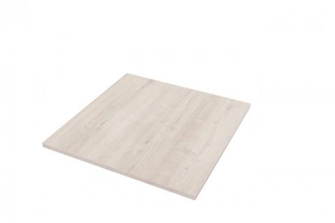 Tischplatten Romantik Eiche - Tischplatten Romantik Eiche Dekorspan H780 W06 mit Hirnholzkante, Folie und Einleger 70% PEFC zertifiziert, BV/CdC/6009552