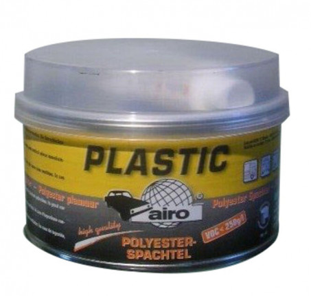 Airo Füll-Ziehspachtel Plastic - Airo Füll-Ziehspachtel Plastic weiß, 1 kg inkl. 1x Härter, A101P05