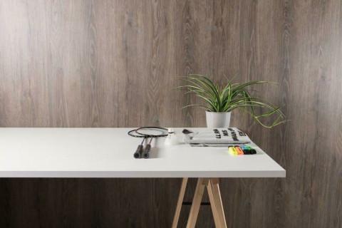 Tischplatten Weiß - Tischplatten Weiß Bürostruktur 4-seitig 1mm ABS-Kante, dekorgleich, Folie und Einleger 70% PEFC zertifiziert, BV/CdC/6009552 | 2