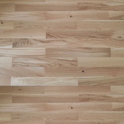 Mosaikparkett Eiche rustikal - Mosaikparkett Eiche rustikal  Parallel Verband 160/22,8 Stärke 8 mm  4,096 qm/Pack 40 Pakete/Palette 163,84 qm FSC 100%  BV-COC-009552 | 2