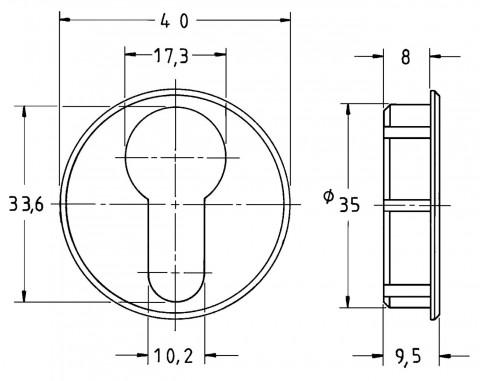 Zubehör für mechanische Schlösser | 2