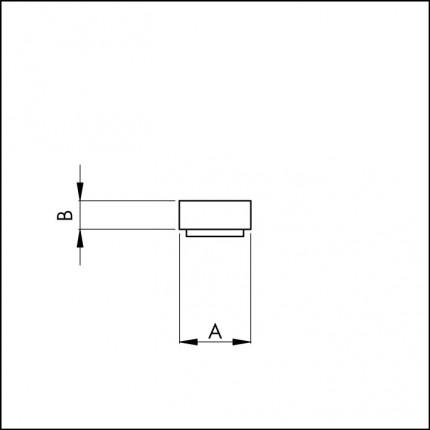 Elton Vorlegeband anthrazit 6x3mm - Elton Vorlegeband anthrazit 6x3 mm,  1-seitig selbstklebend, 20m Rolle, 6004122 | 2
