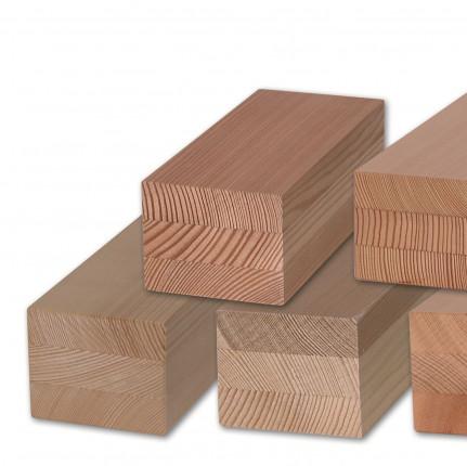 Kantel Kiefer, 3-fach lamelliert - Kantel Kiefer, 3-fach lamelliert,  DKD, durchgehende Decks,  verleimt nach DIN EN 204 D4 | 3